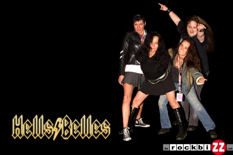 "Bandshooting ""HellsBelles"""