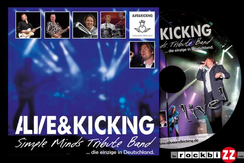 Alive & Kicking: DVD Cover und Label