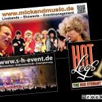 Diverse Bands, Veranstalter: Bauzaun- und Bühnen-Banner