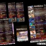 MAXBühne: Diverse Programmflyer, Plakate, Pässe