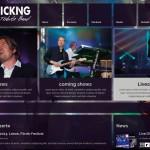 Bandwebseite www.aliveandkicking.de